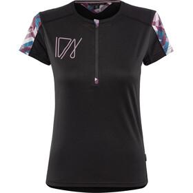 ION Traze T-shirt avec demi-zip Femme, black